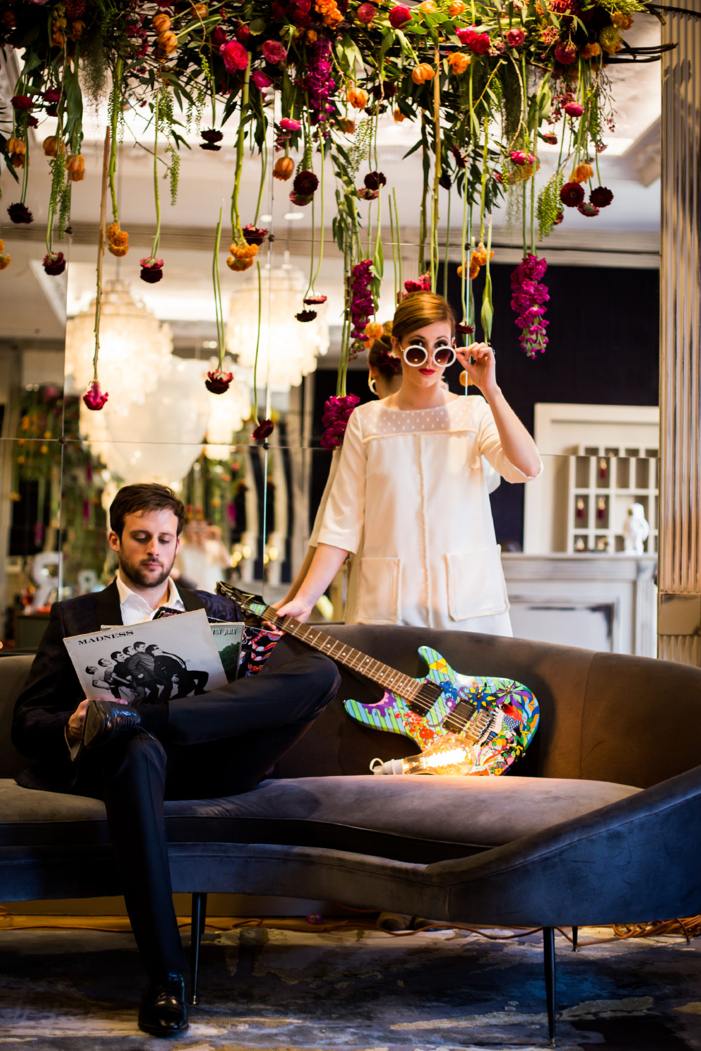 mariage rock inspiration Twiggy costume marié 17